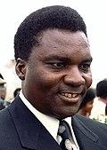 Juvénal Habyarimana in 1980