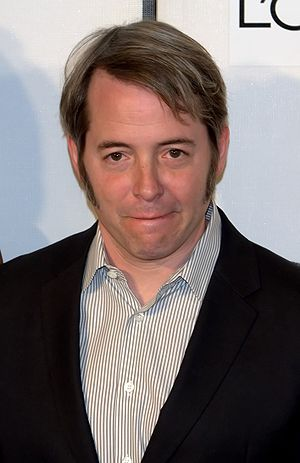 English: Matthew Broderick at the 2009 Tribeca...