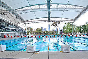 Olympic Swimming Pool Fast Lane Category:Outdo...