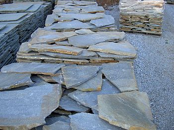 English: Flagstone - natural stone
