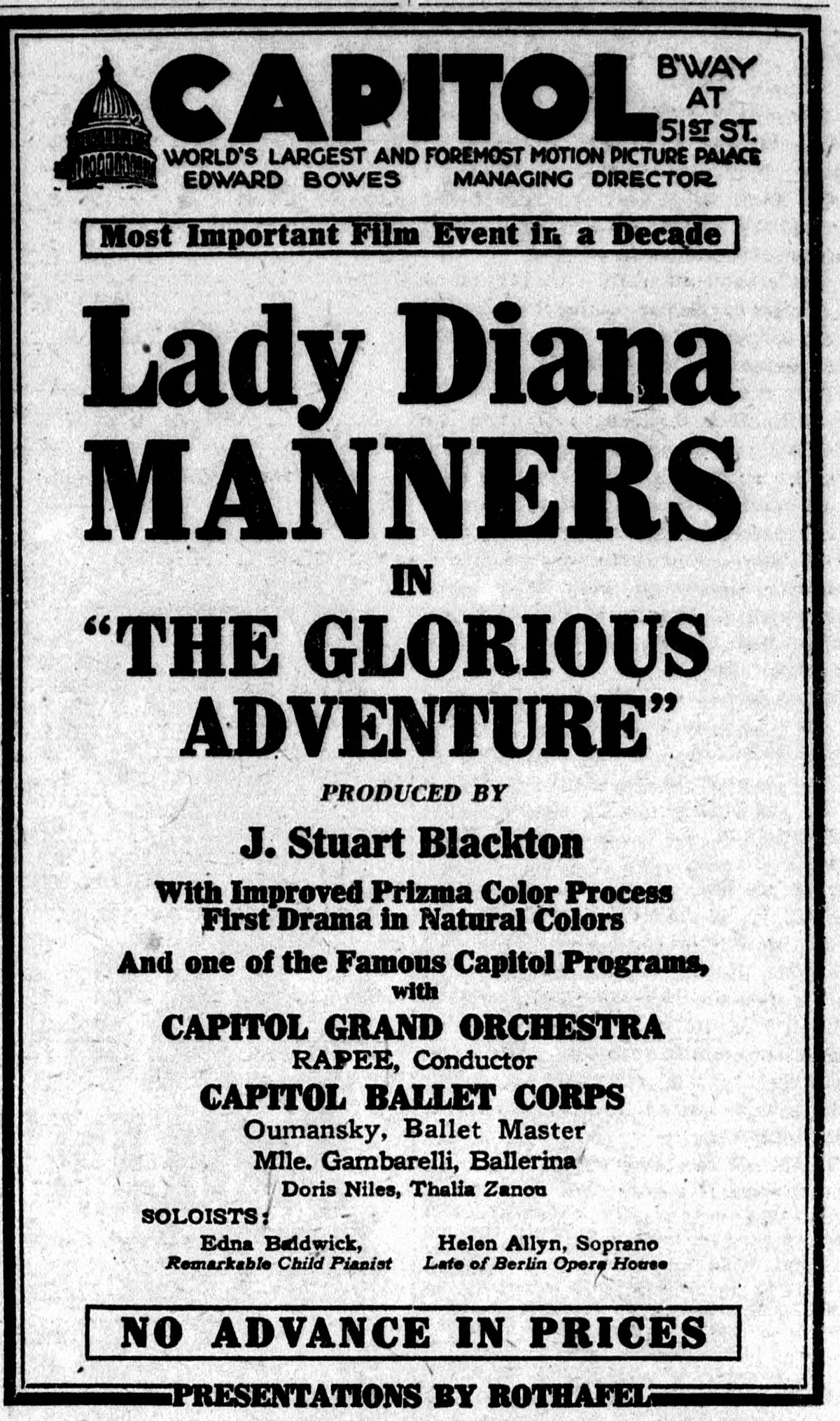 The Glorious Adventure 1922 Film Wikipedia