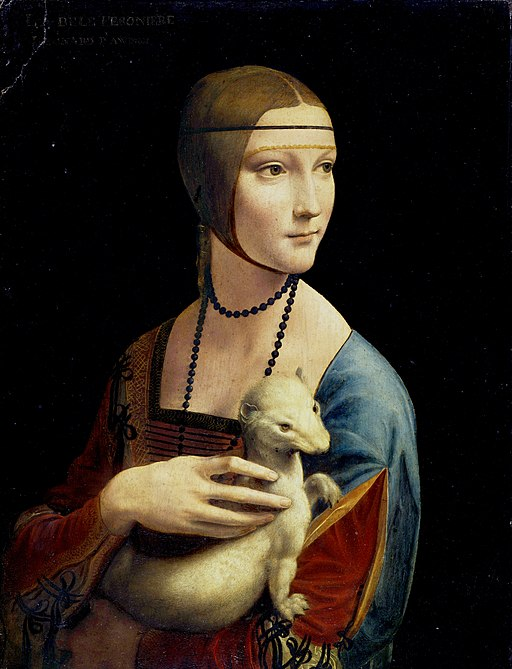 """Lady with an Ermine"" by Leonardo da Vinci"