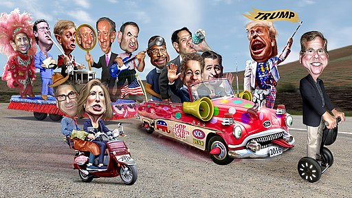 2016 Republican Clown Car Parade - Trump Exta Special Edition (18739683269)