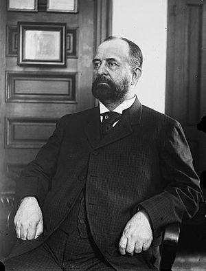 Augustus Van Wyck, Democrat Party politician, ...