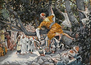 Zacchaeus in the Sycamore Awaiting the Passage...