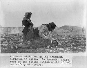 Dead Armenian girl in Aleppo desert.jpg