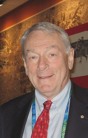 Dick Pound, member of the International Olympi...