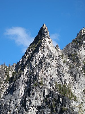 Jabberwocky Tower. Enchantments September 2007, america, USA, Mountain, Adventure