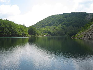 Lago Santo (Modena), lake in Emilia-Romagna, I...