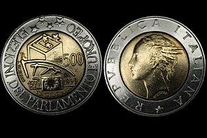 500 Lire Moneta Wikipedia