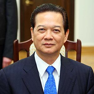 English: Prime minister of Vietnam Nguyễn Tấn Dũng
