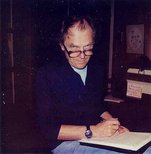 The philosopher Paul Feyerabend in Berkeley