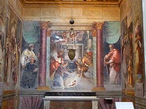 Adoración de los pastores by Daniele da Volter...