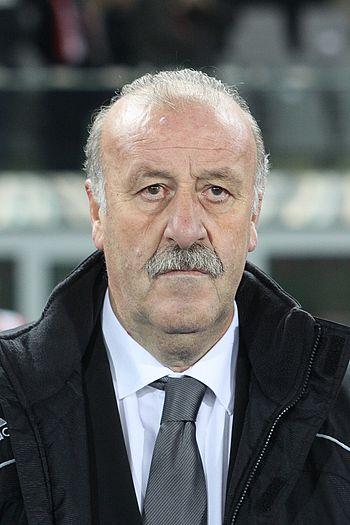 de: Vicente del Bosque, Teamchef der Spanische...