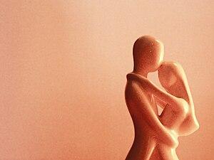 Waltzing statue