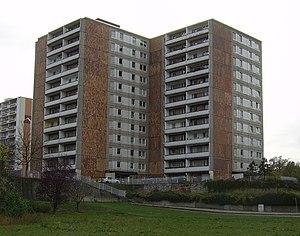 Sopienstraße 31 in Frankfurt (Oder). Sicht von...