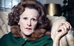 portrait of Fanny Cradock