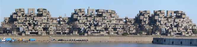 Habitat 67 As Seen From Montreal S Port