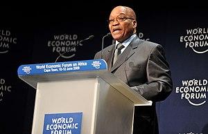 CAPE TOWN/SOUTH AFRICA, 10JUN2009 - Jacob Zuma...