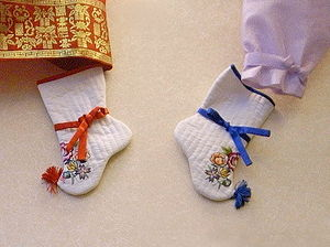 Korean socks, beoseon.