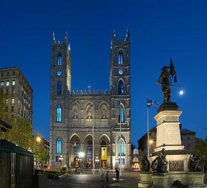 English: Notre-Dame Basilica, Montreal, Quebec...