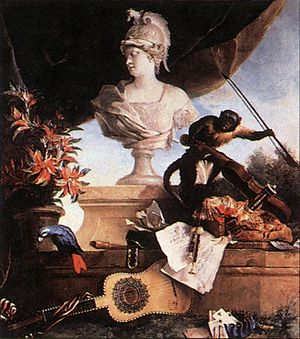 Oudry, Jean-Baptiste - Allegory of Europe - 1722