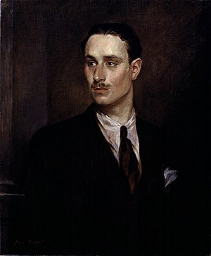 Sir Oswald Mosley, 6th Bt, by Glyn Warren Phil...