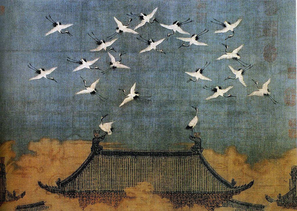 Emperor Huizong of Song - Auspicious Cranes