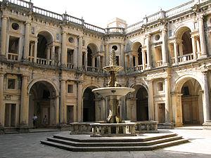 Renaissance cloisters of Christ Convent, Tomar