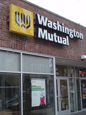 A Washington Mutual in Naperville, Illinois pr...