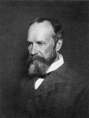 English: William James.