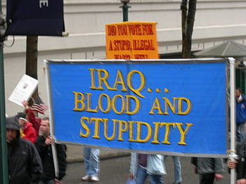 Anti-war demonstration, Seattle, Washington, 1...