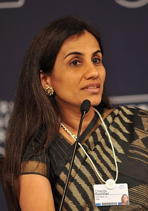 Chanda Kochhar, Indian banker and businesswoma...