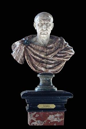 Marcus Tullius Cicero, Roman Consul, 106-43 BC...