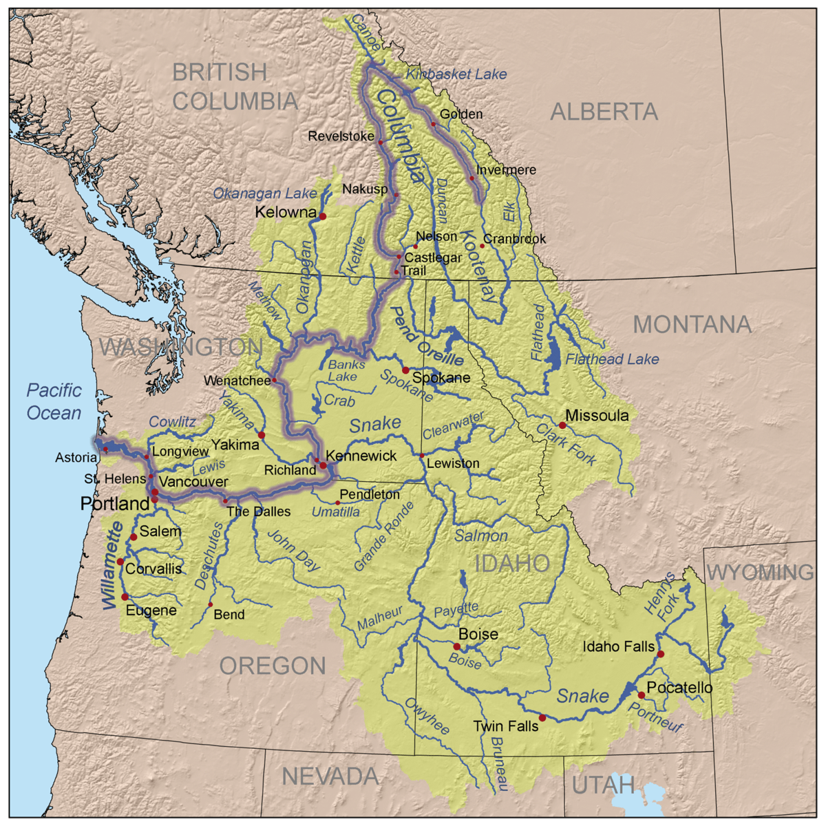 Montana County Map Mapsofnet How To Map A Network Drive - Map of usa with lakes