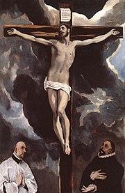 Cristo en la cruz, de El Greco