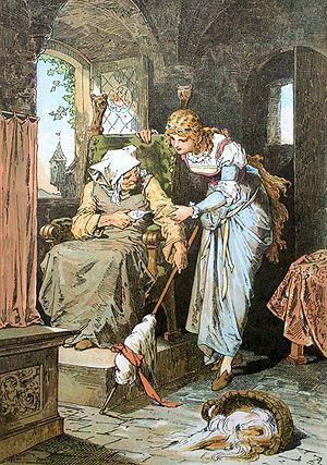 Sleeping Beauty; Darstellung von Alexander Zic...