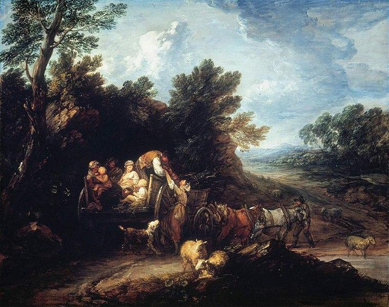 File:Gainsborough-HarvestWagon1784.jpg