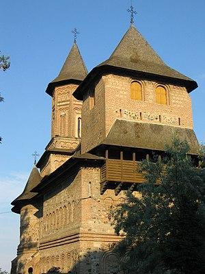 "The fortified ""Precista"" church in G..."