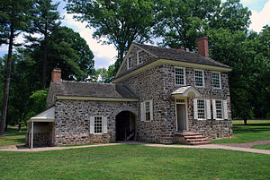 English: The headquarters of George Washington...