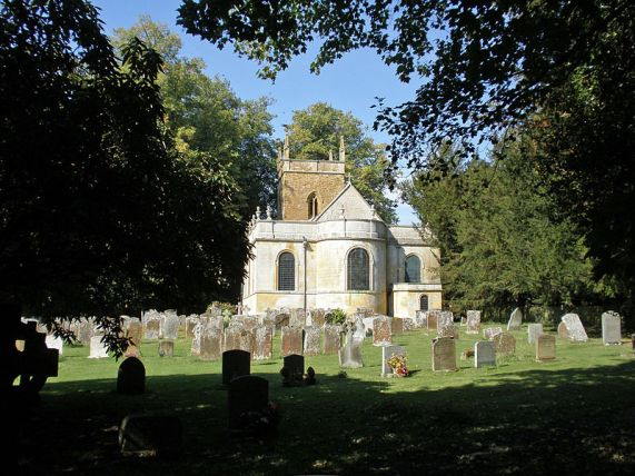 All Saints' parish church, Honington, Warwickshire