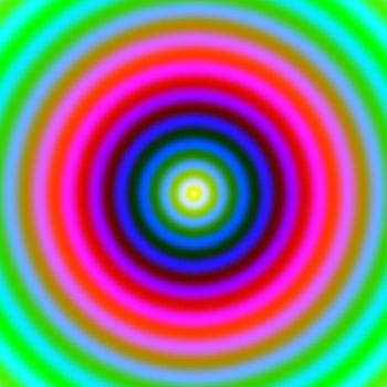 Hypnotic colours