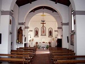 Italiano: Interno della chiesa dei Santi Giuda...