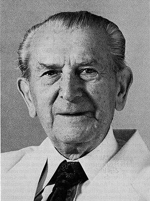 Portrait of Prof. Dr. Martin Lerche, German Ve...
