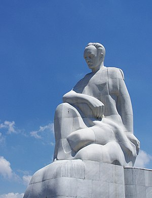 English: Estatue of Jose Marti in Havana, Cuba...