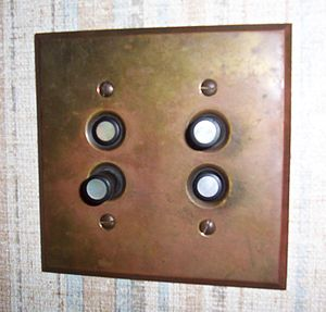 A picture of a push button light switch from m...