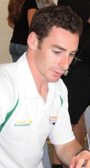 Simon Pagenaud in 2007.