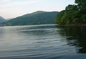 Swimming in Lake Windermere