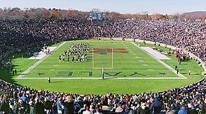 "Yale Bowl during ""The Game"" between ..."