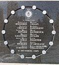 Gedenktafel für die 14 Opfer des Amoklaufs